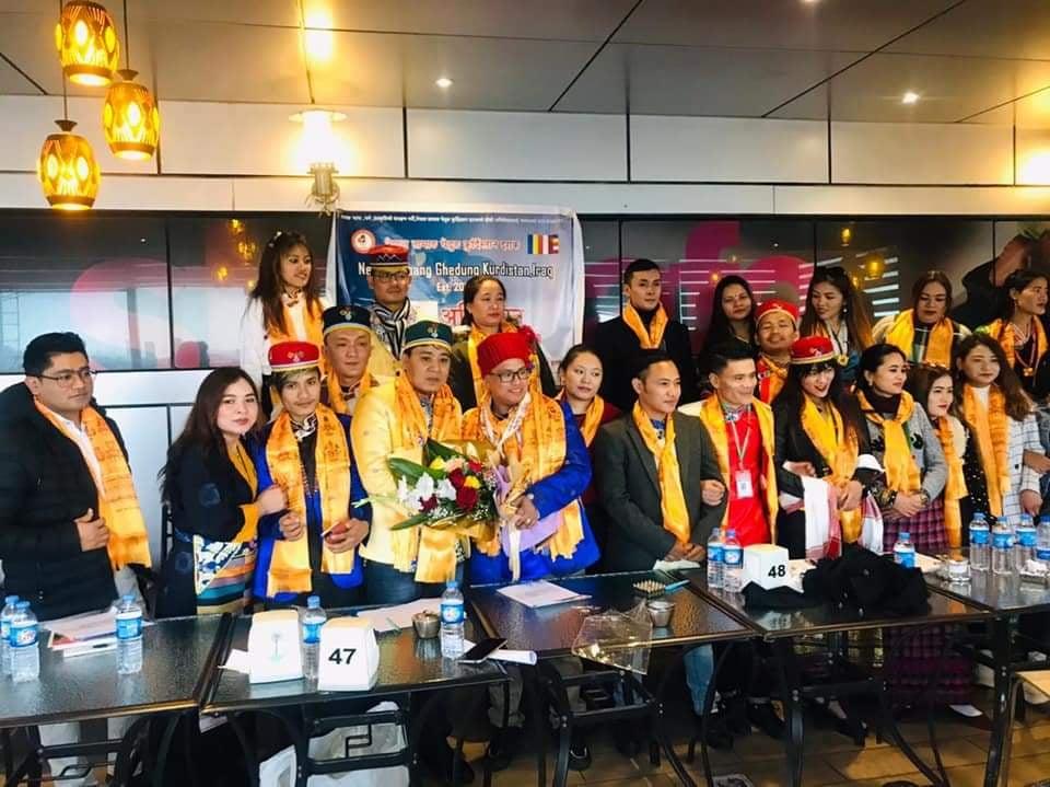 नेपाल तामाङ घेदुङ संघ कुर्दिस्तानमा नयाँ कार्यसमिति, नेतृत्व श्याम मम्बाको काँधमा