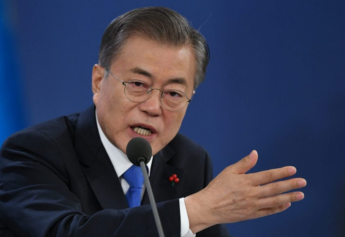 जापानसँग वार्ताका लागि तयार रहेको दक्षिण कोरियाका राष्ट्रपतिको भनाइ