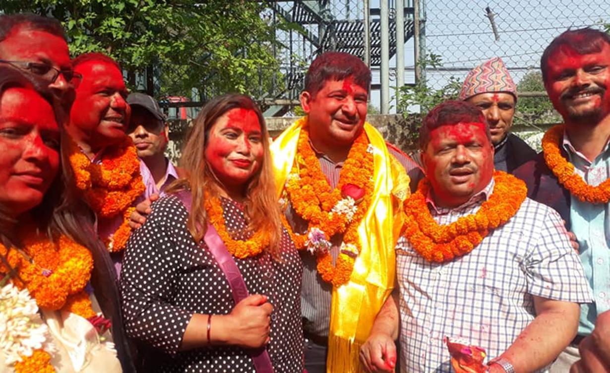 नेपाल पत्रकार महासंघमा पोख्रेलको प्यानल विजयी