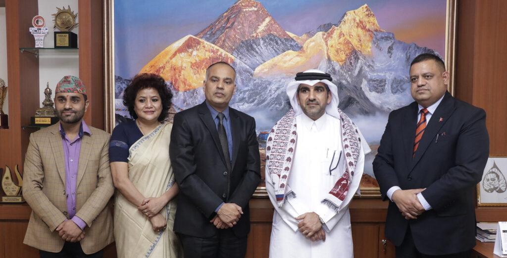 नेपाल र कतारबीच पर्यटन प्रवर्द्धनमा सहकार्य हुने