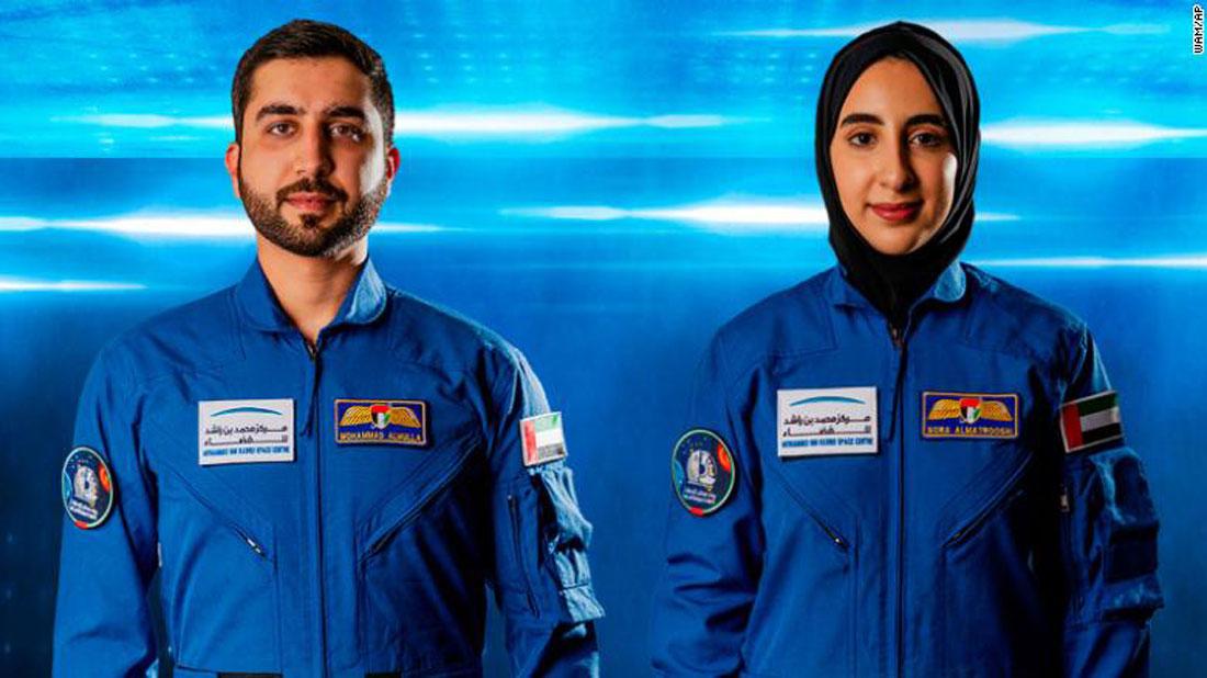 यूएईबाट अन्तरिक्षमा पठाइने दुई यात्रीको नाम घोषणा