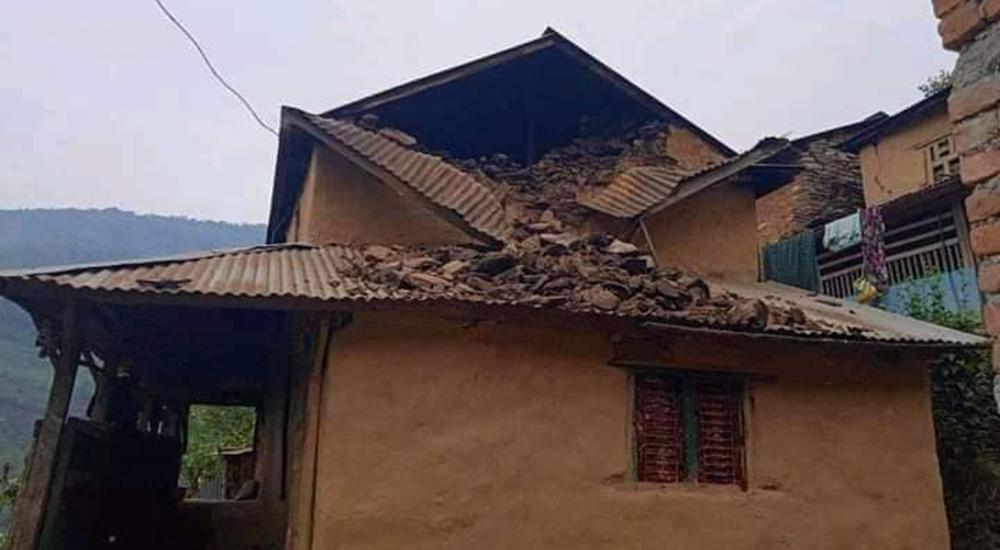 लमजुङमा फेरी ५.३ रेक्टरस्केलको भूकम्प, क्षतीको विवरण आउन बाँकी