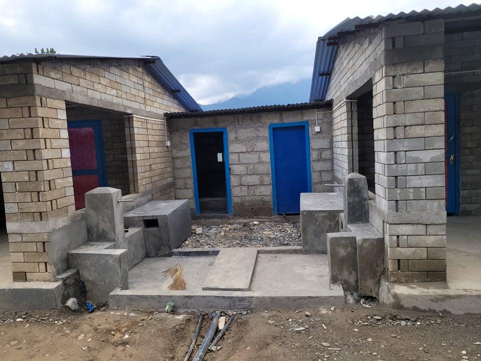म्याग्दी प्रवासी नेपाली संघद्वारा पहिरो पीडितका ४० घर पुनःनिर्माण