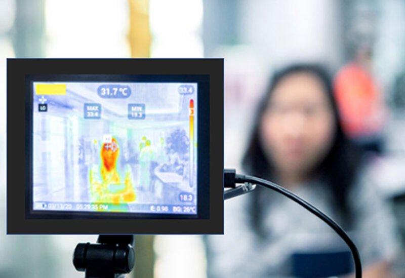 यूएईमा कोभिड पहिचान गर्न 'स्कायनर'