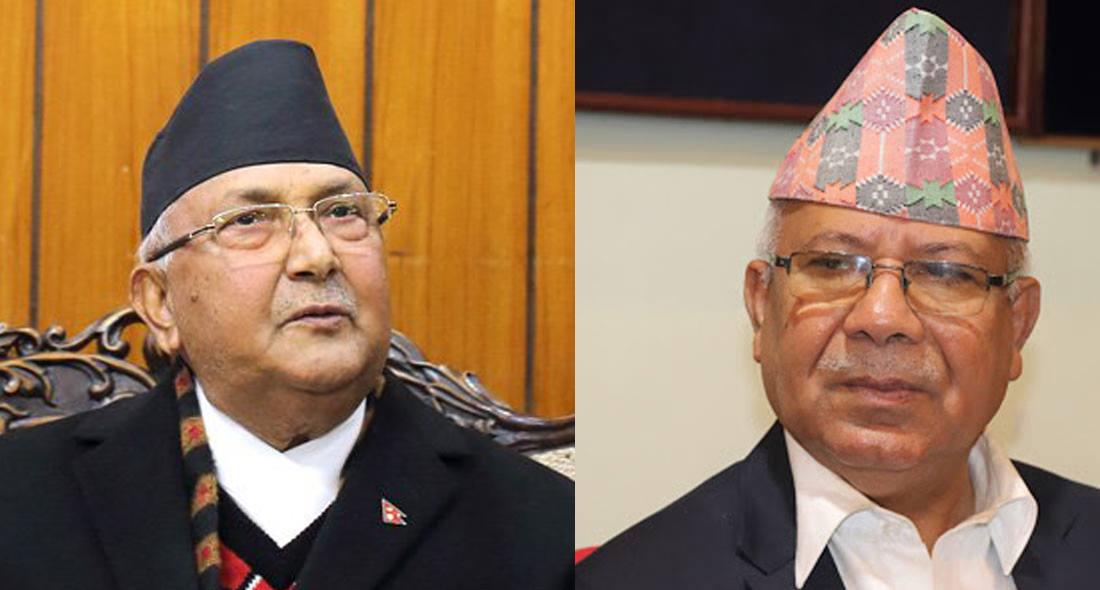 प्रधानमन्त्री ओलीले भने– 'माधव नेपाल लाजशरम पचेको मान्छे'