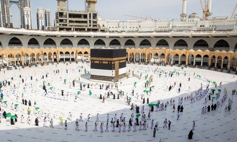 साउदीमा हजका क्रममा कोभिड संक्रमण शून्य