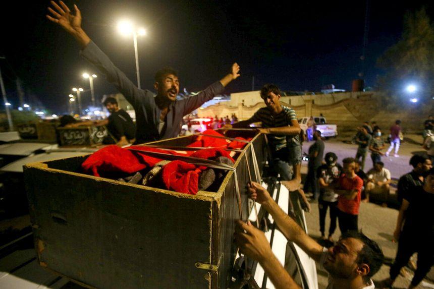 इराकको कोभिड अस्पतालमा आगलागी, ९२ जना मारिएको पुष्टी