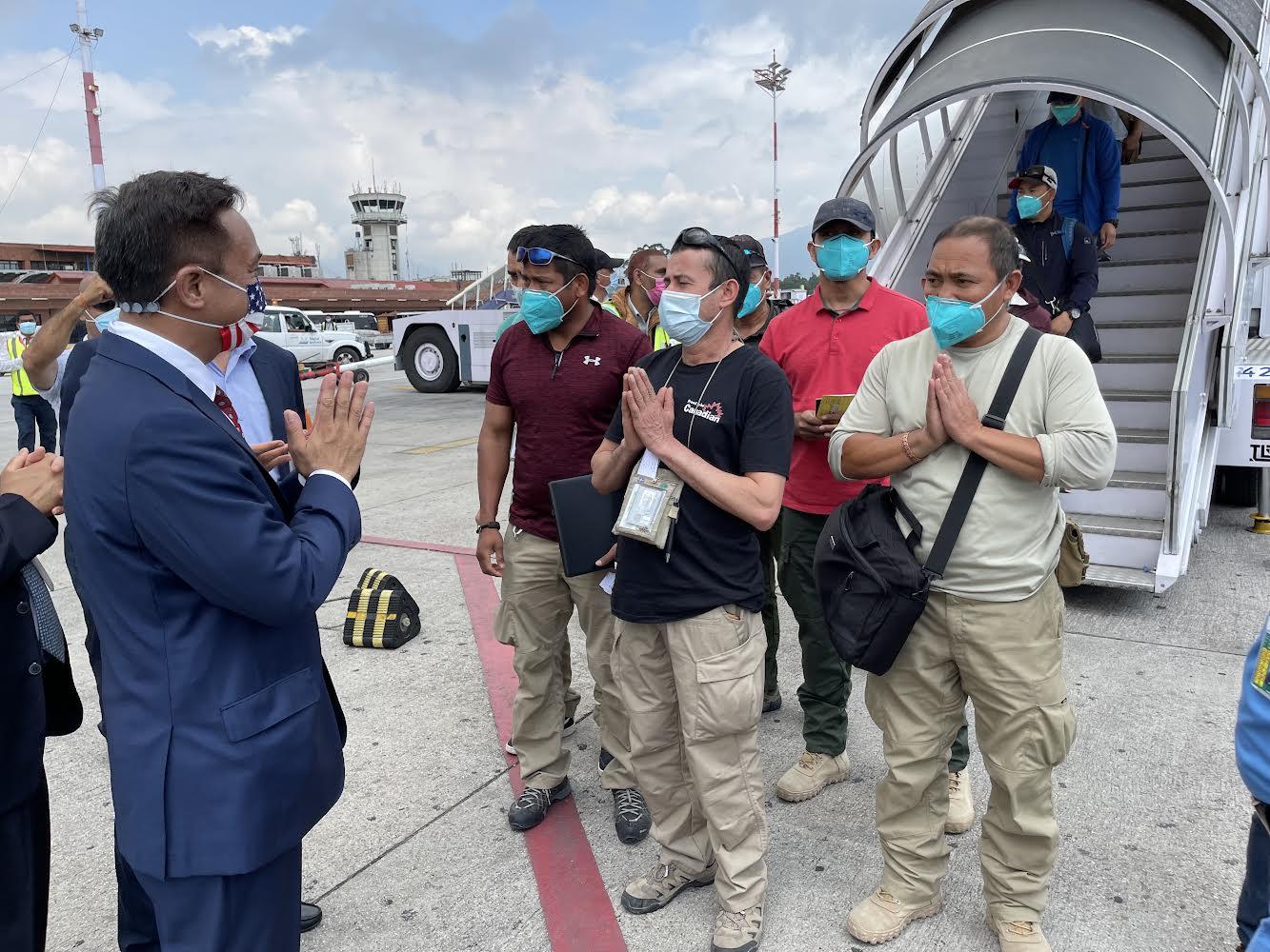 काबुलबाट ११८ नेपाली काठमाडौं आइपुगे
