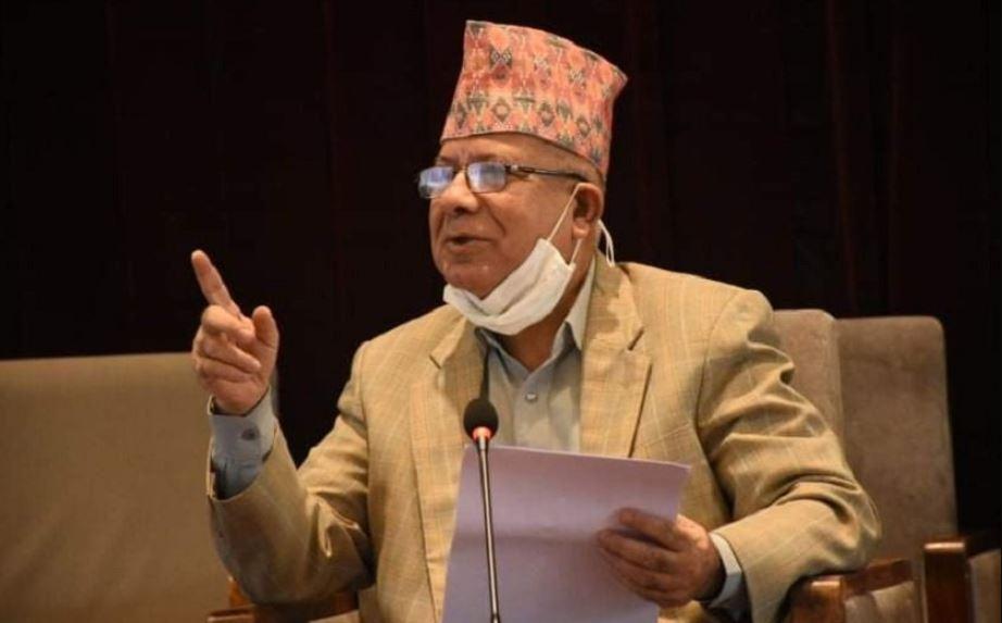 तत्काल कुनै पार्टीसँग एकता गर्ने पक्षमा छैनौँ : माधव नेपाल