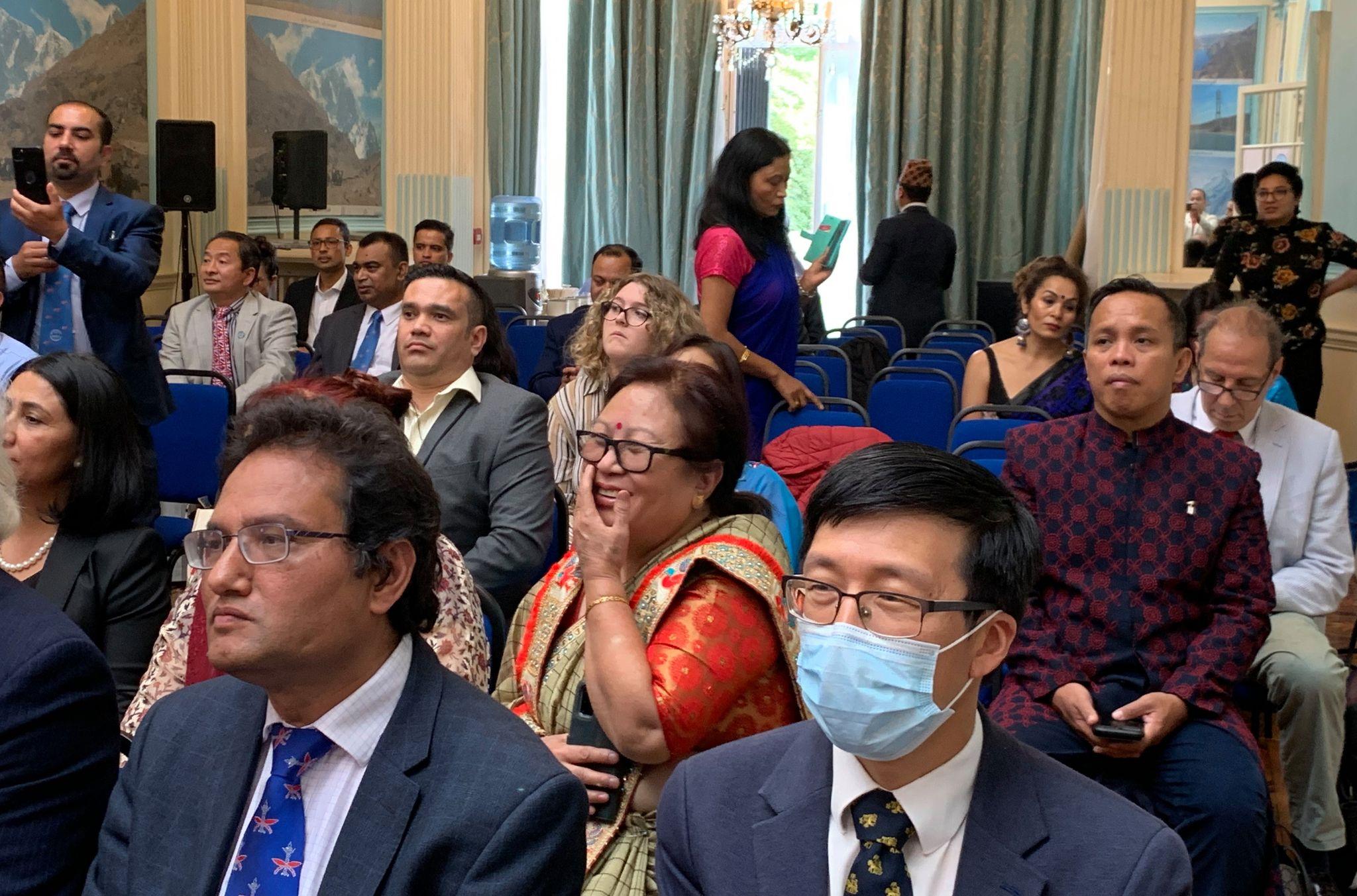 २८ बुँदे लण्डन घोषणापत्र जारी गर्दै तेश्रो विश्व नेपाली स्वास्थ्य सम्मेलन सम्पन्न