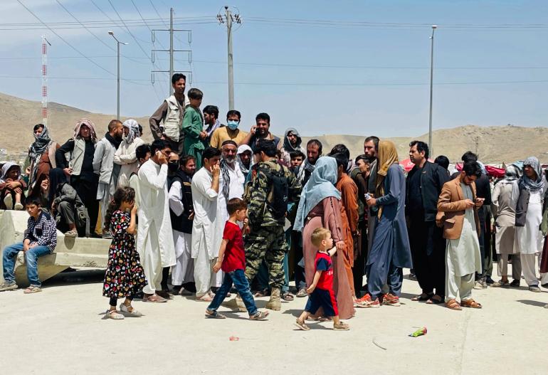 राष्ट्र संघको रिपोर्ट : वर्षको अन्त्यसम्म ५ लाख अफगानीले देश छोड्ने आशंका