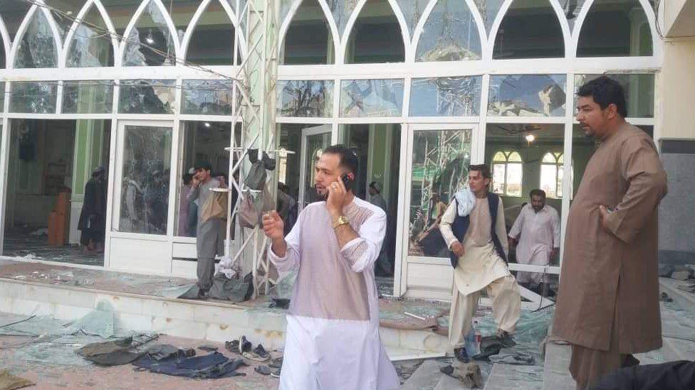 अफगानिस्तानको एउटा शिया मस्जिदमा बम बिस्फोट, ३० जनाको मृत्यु